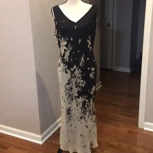 Adrianna Papell 100% silk outer dress.  Size 12
